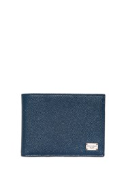 Dolce And Gabbana Dauphine Leather Classic Wallet