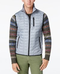 Tommy Hilfiger Men's Beekman Insulator Vest Sports Grey Heather