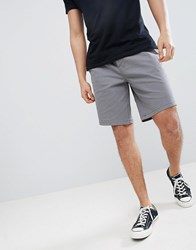 Tokyo Laundry Chino Shorts With Elastic Waist Smoked Pearl Grey