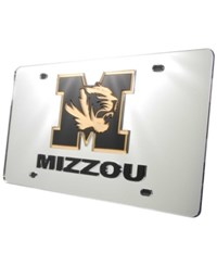 Stockdale Missouri Tigers License Plate Silver