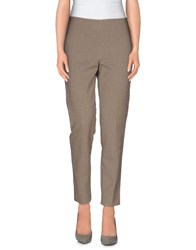 Pt01 Trousers Casual Trousers Women Khaki