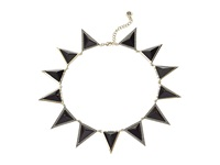 House Of Harlow Triangle Theorem Collar Necklace Black Necklace