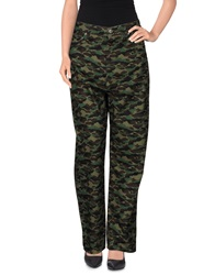 Golden Goose Denim Pants Military Green