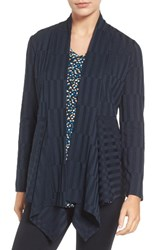 Chaus Women's Drape Front Ribbed Cardigan