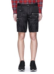 Dsquared Nylon Cargo Shorts Black