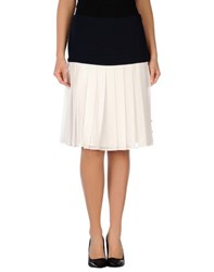 Edward Achour Skirts Knee Length Skirts Women Dark Blue