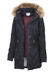 Fat Face Paignton Parka Navy