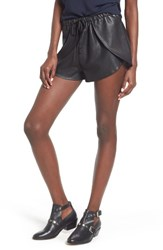 The Fifth Label Women's Passenger Faux Leather Shorts