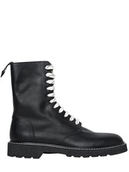 Maison Martin Margiela Lace Up Leather Combat Boots