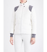 Perfect Moment Qanir Blazer Quilted Shell Jacket Snow White