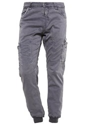 Alpha Industries Octane Cargo Trousers Grey Black