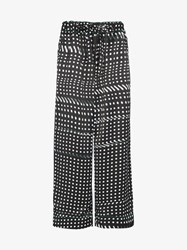 Facetasm Dotted Trousers Black