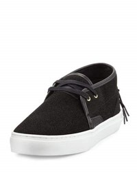 Clear Weather Stingray Sneaker Black