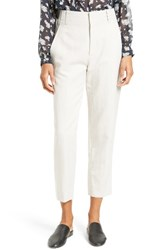 Vince Women's Carrot Tapered Leg Ankle Pants Fossil