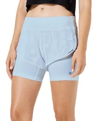 Mpg Seneca Fitted Shorts Chambray