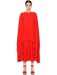 Valentino Layered Silk Georgette Caftan Dress