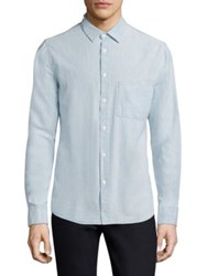 Nudie Jeans Stanley Denim Casual Button Down Shirt