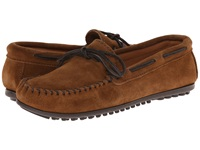 Minnetonka Classic Moc Dusty Brown Suede Men's Moccasin Shoes