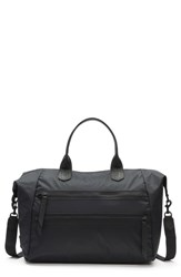Frye Ivy Nylon Overnight Bag Black Matte Black