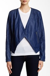 Bertie Chambray Jacket Blue