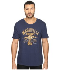 Lucky Brand Nashville Graphic Tee American Navy Men's T Shirt