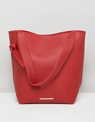 French Connection Tote Handbag Red