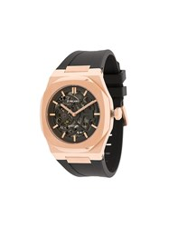 D1 Milano Skeleton 41.5Mm Watch Black