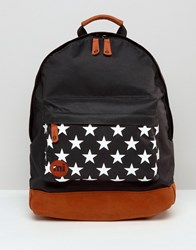 Mi Pac Star Pocket Backpack Black