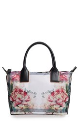 Ted Baker London Small Painted Posie Tote Pink Baby Pink