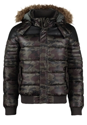 Kaporal Cani Winter Jacket Camouflage Dark Green