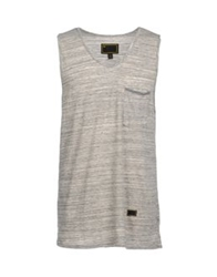 Freshjive Sleeveless T Shirts Ivory