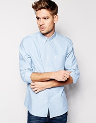 Jack Wills Oxford Shirt In Slim Fit Brightturquoise