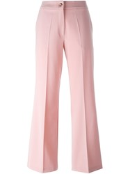 Vivetta Tailored Trousers Pink And Purple