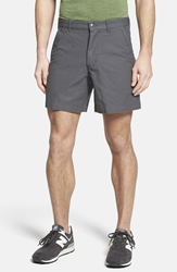 Patagonia 'Stand Up' Organic Cotton Canvas Shorts 7 Inch Forge Grey