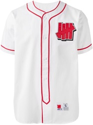 Undefeated 'Head Hunter' Baseball Style Shirt Red