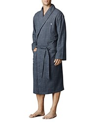 Polo Ralph Lauren Charcoal Midnight Flannel Robe