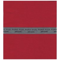John Lewis Silk Handkerchief Red