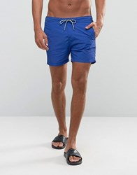 Scotch And Soda Basic Swim Shorts Blue