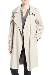 French Connection Women's Double Breasted Snap Trench Coat