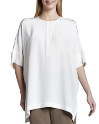Go Silk Silk Dolman Sleeve Tunic Women's