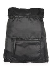 Topshop Foldaway Backpack Black