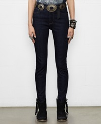 Denim And Supply Ralph Lauren Skinny High Rise Jeans Carstens Wash