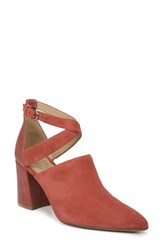 Naturalizer Holland Cross Strap Pump Desert Clay Suede