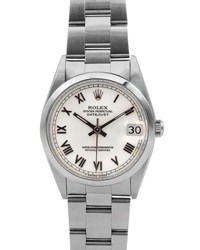 Rolex Pre Owned 31Mm Datejust Oyster Bracelet Watch