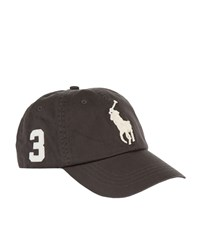 Ralph Lauren Big Pony Baseball Cap Grey