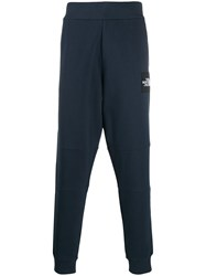 The North Face Logo Patch Track Trousers Blue