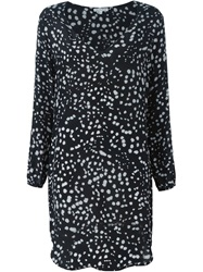 Lily And Lionel Lily And Lionel 'Nova' V Neck Dress Black