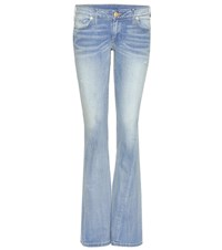 True Religion Joey Low Rise Flared Jeans Blue