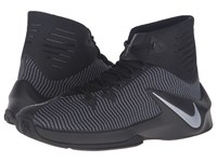 Nike Zoom Clear Out Black Anthracite Metallic Silver Men's Basketball Shoes