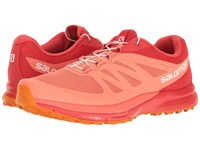 Salomon Sense Pro 2 Living Coral Poppy Red Bright Marigold Women's Shoes Orange